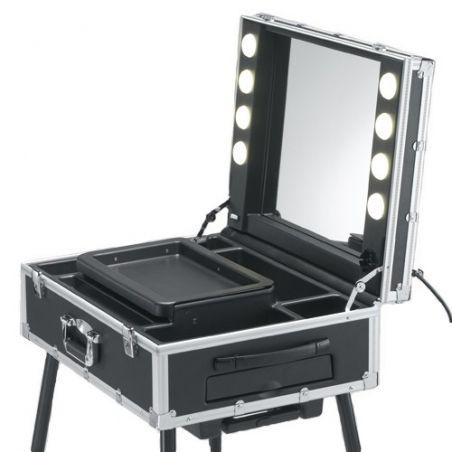 RESIGILAT STATIE DE MACHIAJ MOBILA LED ON-OFF